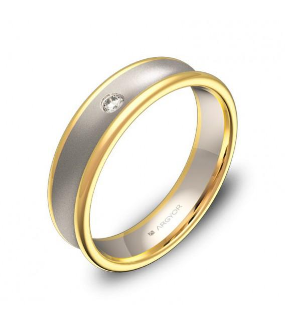 Alianza de boda Argyor D0750C1BA