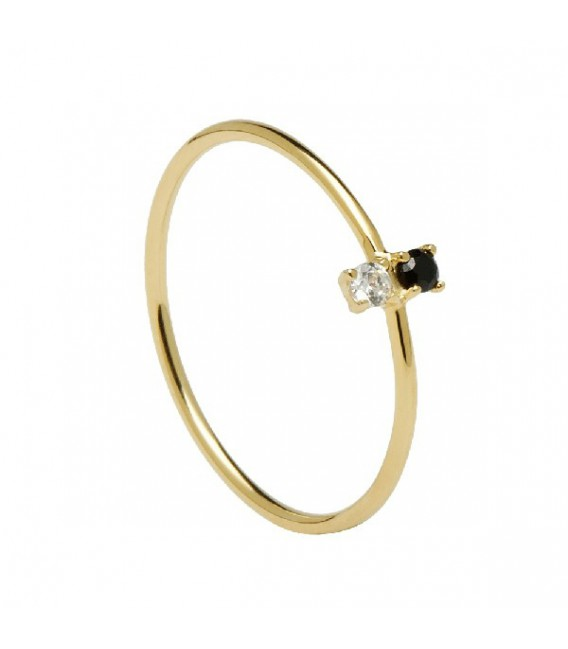 Anillo Carbon Gold PDPaola AN01-106-14
