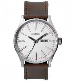 Reloj Nixon Sentry leather A105113