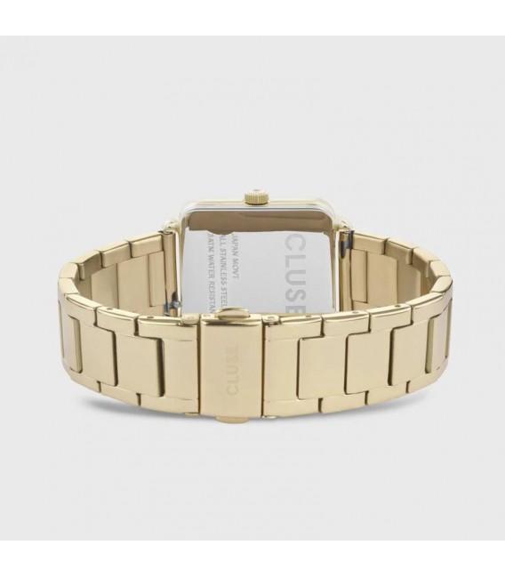 Reloj Cluse La Tétragone color dorado & nácar CL60026S.