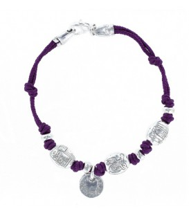 Pulsera de Arrasate color morado.