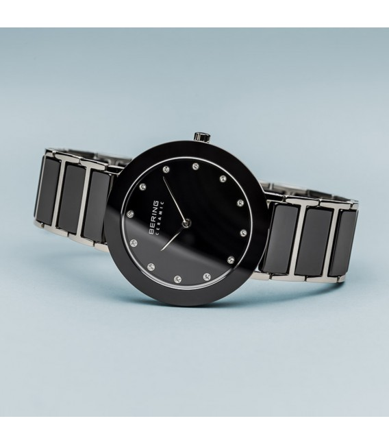 Reloj Bering Ceramic & Swarovski Elements de 34 mm. 11435-749